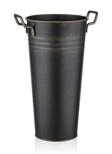 The Mia Vazo 50 Cm - Siyah Siyah